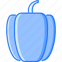 cooking, food, pepper, shop, supermarket, vegetable icon