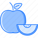 apple, cooking, food, fruit, shop, supermarket icon