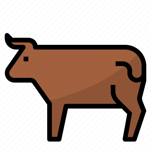 beef, food, meat icon