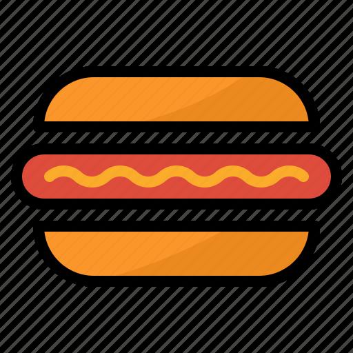 dog, fast, food, hot, restaurant icon