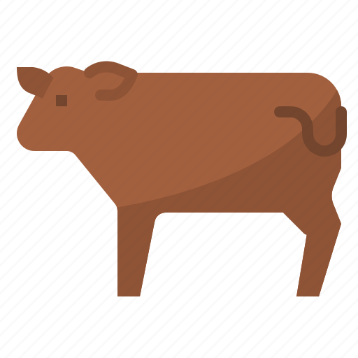beef, cattle, cow, meat icon