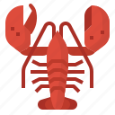 aquarium, life, lobster, sea, seafood icon
