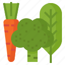food, greens, healthy, salad, vegetable icon