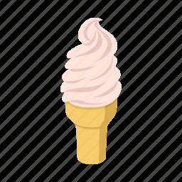 fast, food, ice cream icon