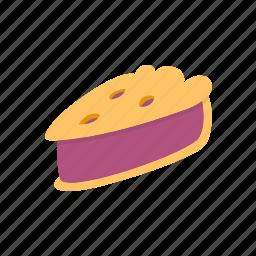 dessert, dinner, food, pie, restaurant icon