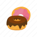 baking, dessert, donut, food, sweet icon