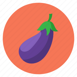 color, eggplant, food, kitchen, vegetable, vegetables icon