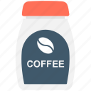 coffee, coffee container, coffee jar, coffee storage, food icon