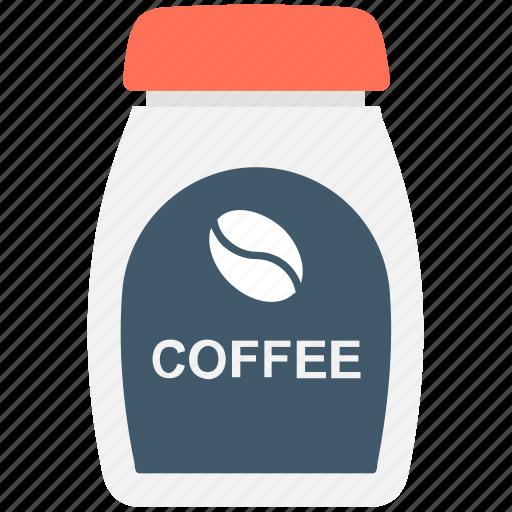 coffee, coffee container, coffee jar, coffee storage, food icon