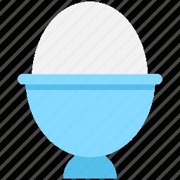 boiled egg, egg cup, egg holder, egg server, egg serving icon