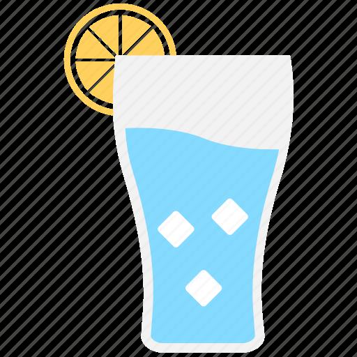 cold drink, drink, lemon juice, lemonade, orange juice icon