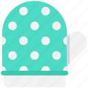 oven glove, pot holder, mitten, kitchen glove, oven mitt icon