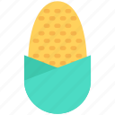 sweet corn, maize, corn, sugar corn, pole corn icon