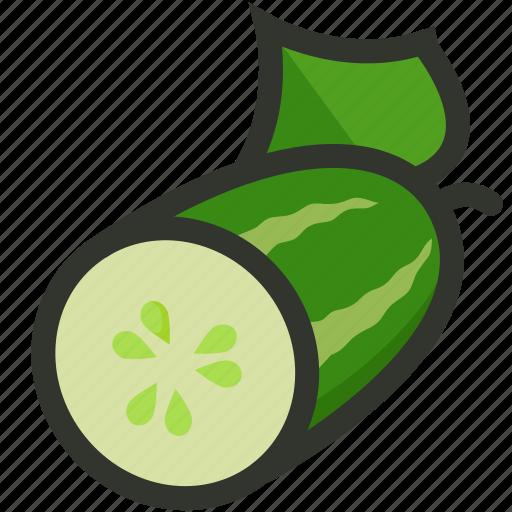 cucumber, food, salad, vegetable, veggie icon