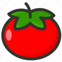 food, fruit, tomato, vegetable, veggie icon