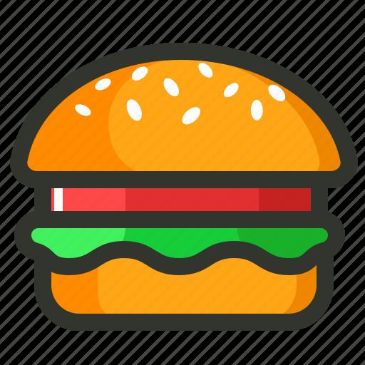 burger, energy, food, junk food, meal, veggie burger icon