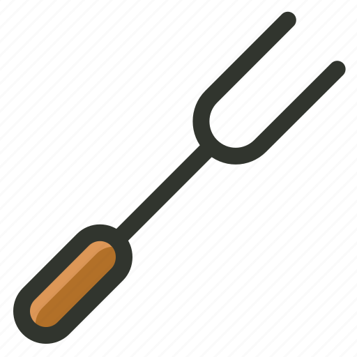 food, fork, grill, grill fork, meat icon
