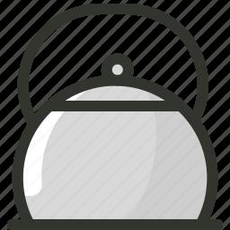 food, kettle, tea kettle, teapot icon