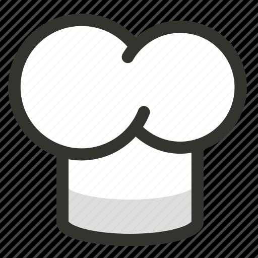 chef, chef hat, cook, kitchen, toque icon