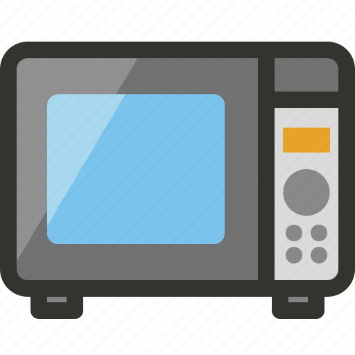 appliance, cooking, household, microwave, oven icon