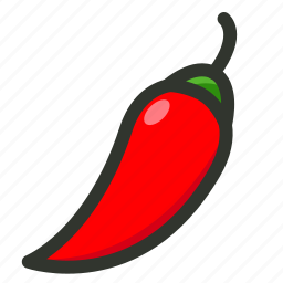 chilli, food, hot, pepper, spice, spicy icon