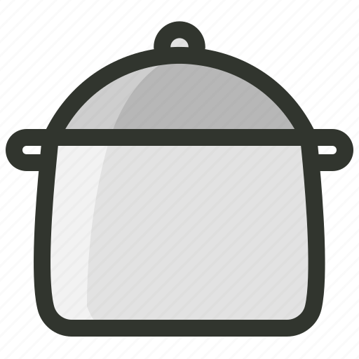 cooking, food, hot pot, saucepan, utensil icon