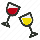 alcohol, celebration, drinks, juice, party icon