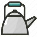 food, kettle, tea, tea kettle, teapot icon