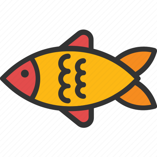 fish, food, healthy, nutrition, seafood icon