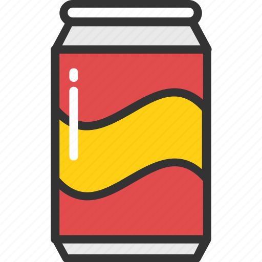 beverage, cola, drink, soda can, soft drink icon