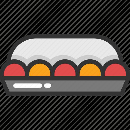 breakfast, eggs, eggs tray, food, healthy diet icon