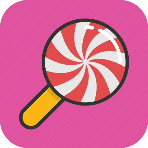 candy, confectionery, lollipop, lolly, sweet icon
