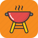 barbecue, bbq, charcoal grill, cooking, grill icon