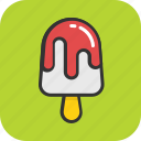 frozen food, ice cream, ice lolly, ice pop, popsicle icon