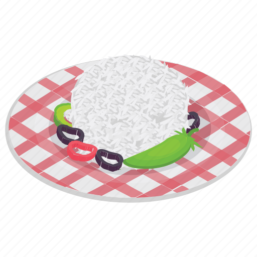Boiled rice, cooked rice, cuisine, food, rice icon - Download on Iconfinder