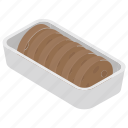 biscuit, chocolate biscuits, chocolate cookies, sandwich biscuits, tea snacks icon