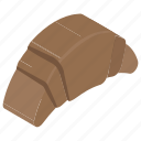 bakery food, croissant, croissant dough, snack, sweet snack icon
