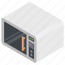electric oven, heating oven, microwave, microwave oven, oven icon