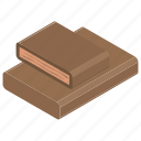 black chocolate, chocolate bar, chocolate bite, dark chocolate, desert icon
