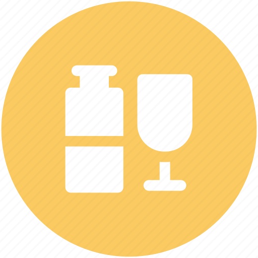 alcohol, beer, beverage, glass of beer, whiskey, wine icon