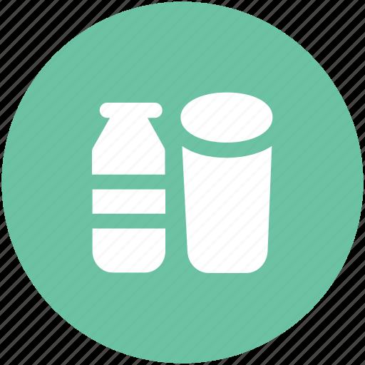 drink, glass, glass and bottle, juice, juice bottle, milk bottle icon