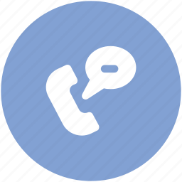 call, call and bubble, contact, customer service, phone, receiver, telephone icon