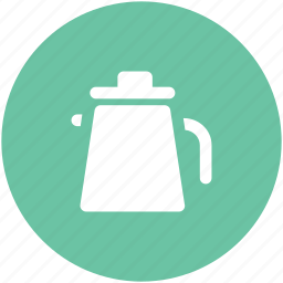 kettle, kitchen utensil, tea, teakettle, teapot, thermos icon
