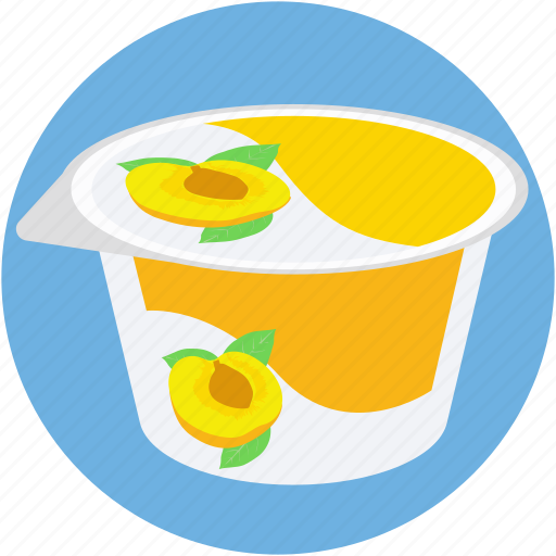 apricot jam, dessert, food, peach jam, peach jelly icon