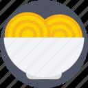 bowl, noodles, snack, spaghetti, vermicelli