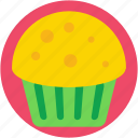 bakery food, dessert, meat pie, muffin, pie icon