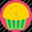 bakery food, dessert, meat pie, muffin, pie