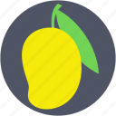 fruit, juicy fruit, mango, nutrition, stone fruit icon