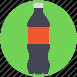 fizzy drink, pop bottle, soda, soda bottle, soda pop icon
