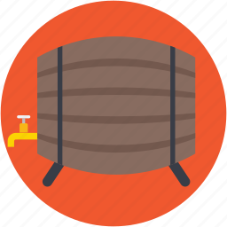 barrel, cask, keg, oktoberfest, wine barrel icon